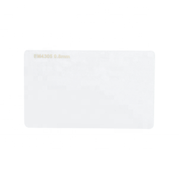 Blank PVC card 125khz EM4305 RFID Smart Card