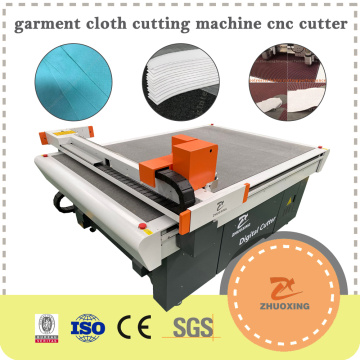 Automatical Cloth Fabric Textile Cutting Machine