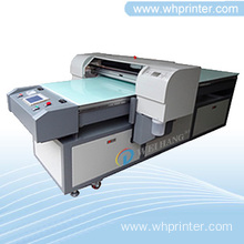 8-color Digital Inkjet Flatbed Leather Printer