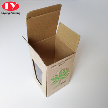 Cup Box Packaging Custom Korrugerede bokse