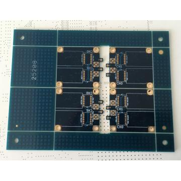 6 layer 1.2mm blue solder PCB