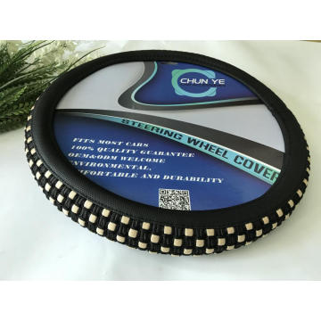 Flax cloth auto steering wheel cover