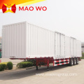 Tri Axle Dry Van Box Cargo Trailer