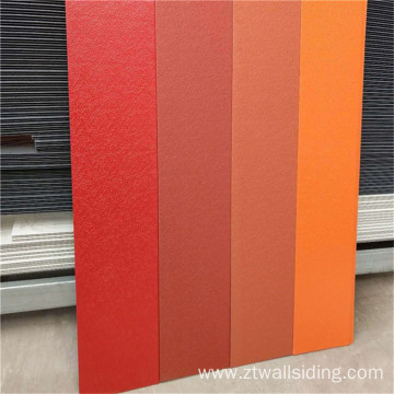 PU Metal Decoration and Warm Insulation Panel