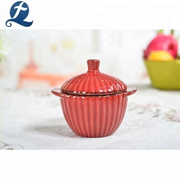 Colorful Kitchen Casserole Soup Hot Pot With Lid