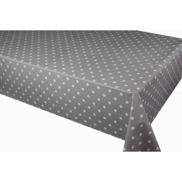 Simple dot design Beauty plastic tablecloth