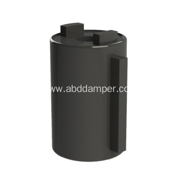 Small Cover Plate Soft Close Damper Barrel Damper