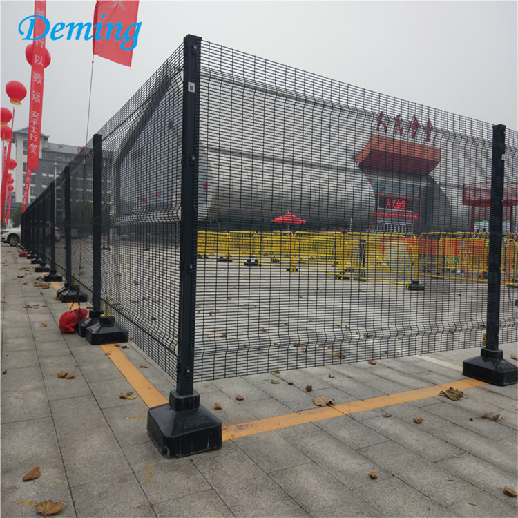 anti-climbing perimeter security 358 steel fence