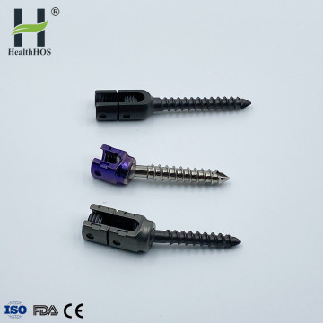 Multi-Axial Expansive Pedicle Screw spine implant