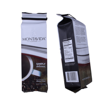 Custom Printed Black Ziplock Foil Coffee Bags