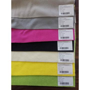 Polyester Knitted Fabrics Fleece DTY One-Side Brush 180GSM