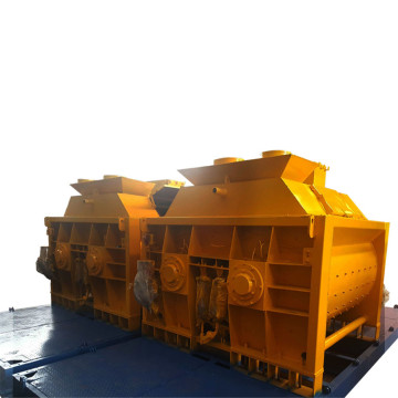 large capacity with 2 bagger concrete mixer JS1500