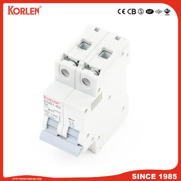 Miniature Circuit Breaker 4.5KA 63A 1P with CE