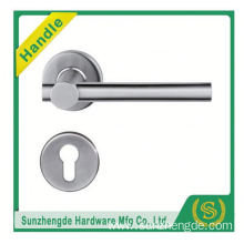 SZD Most popular stainless steel lever door handle with wood