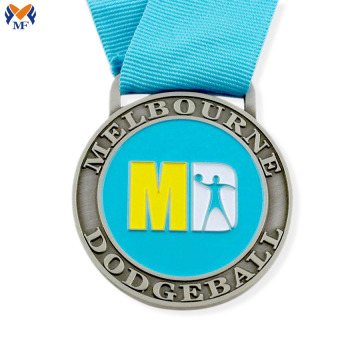 Custom your own sports enamel medal