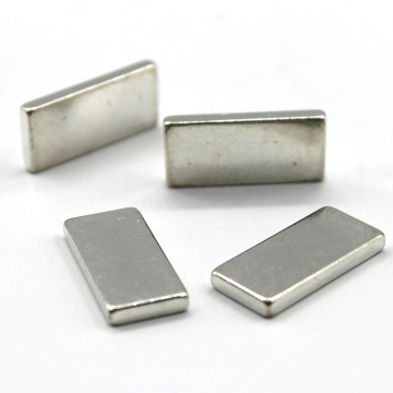 40mm Ni coated block Neodymium Magnet