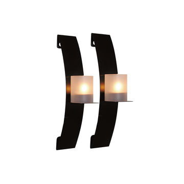 iron  wall candle holder 2pcs