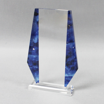 Plexiglass business award trophies plaques