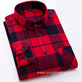 Fashion 100% cotton flannel shirt