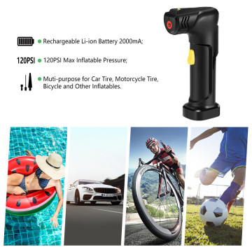 Hot Selling Rechargeable Air Pump Tire Inflator Cordless