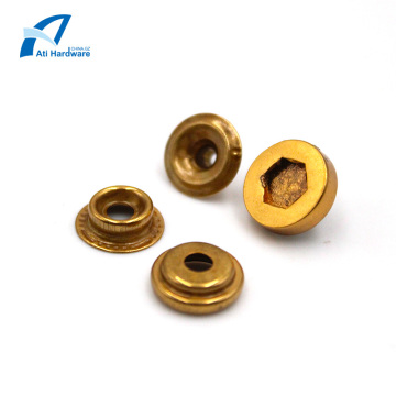 Garment Rivets Metal Decorative Button Stud Rivets