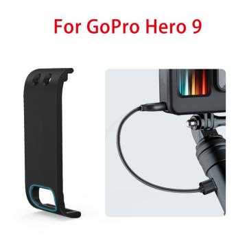 For GoPro Hero 9 Action Camera Rechargeable Side Protective Cover Battery Lid Door Cover Sports Camera Accessories