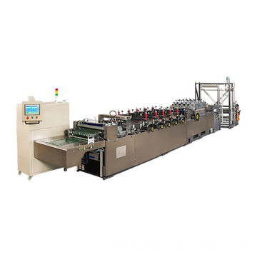 High speed plastic bag making machine