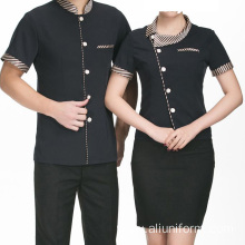 Fast Food Restaurant Dress Wait Staff Uniform Apron Uniform