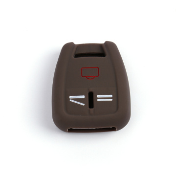 Debossed Car Key Silicone Cover for Opel