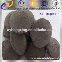 Professional Manufacturer Black Silicon Carbide Briquette Deoxidizer For Steelmaking