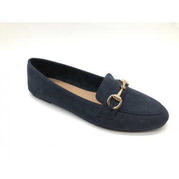 Low Heel Loafer Slip On Comfortable Work Flats