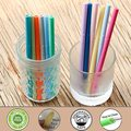 Short Reusable Silicone Straws for Drinking