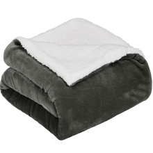 sherpa pet dog blanket car lap microfiber blanket