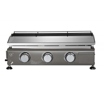 3-Burner Portable Table Top Gas Grill Griddle