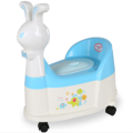 Rabbit Shape Infant Potty Chair With Wheel&Music