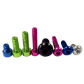 Anodized Colorful Aluminium Aluminum Button Head Hex Socket Screw m3 For RC Toys