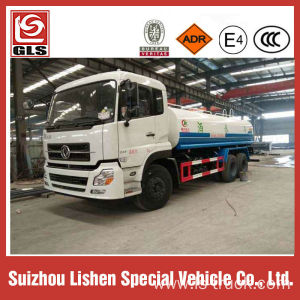 Dongfeng 4X2 20m3 water tank truck