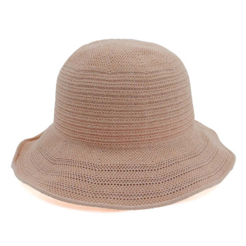 Summer portable straw hat fedora bucket hat
