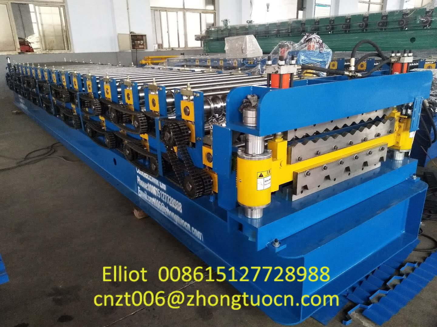 Double Layer Roofing Sheet Machine Produced for South Africa (3)