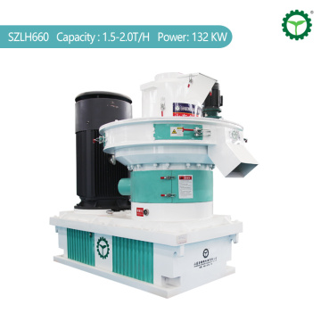 1.5-2.0T/H Rubber Wood Sawdust  Pellet Machine