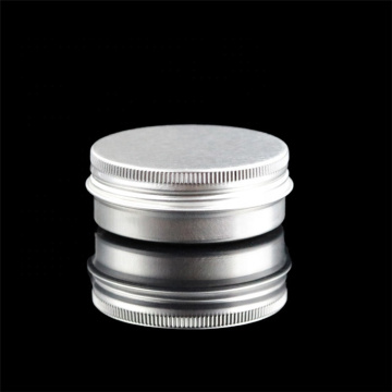 Empty Small Screw Cap Cream Tin Box