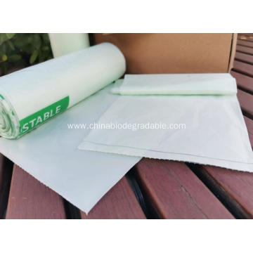 Compost Ecofriendly Trash Plastic Bags On Roll