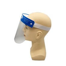 Adult protective plastic visor full face shield