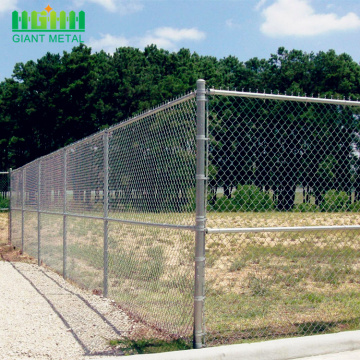 galvanized woven type chain link mesh for sale