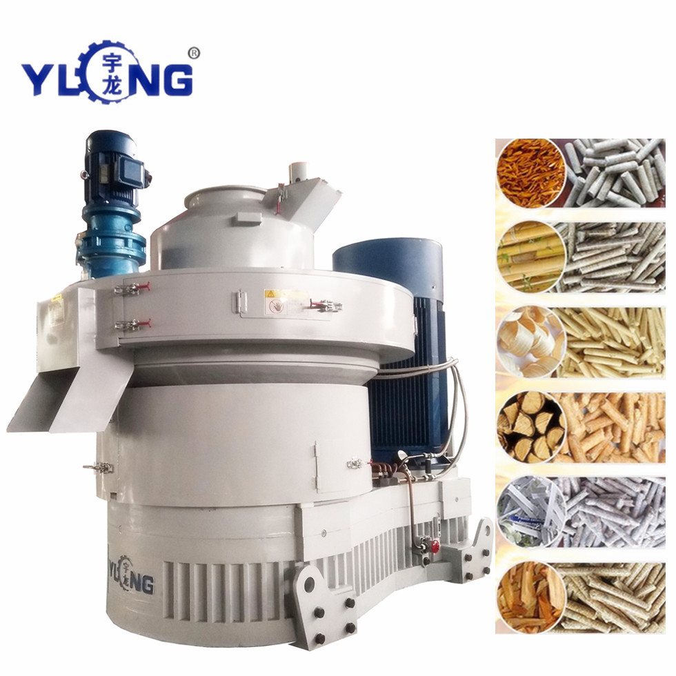 wood sawdust and weeds pellet machine
