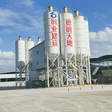 Wet mix 60m3/h automatic commercial concrete mixing plant