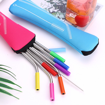 Wholesale Eco-Friendly Stainless Steel Drinking Straw