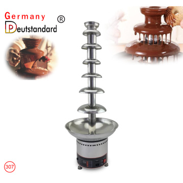 7-Layer electric Chocolate Fountain Machine