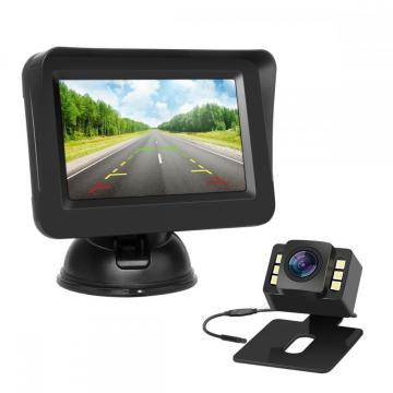 Night Vision Wire Backup Camera System Kit