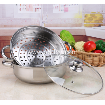 Stainless Steel Multi Purpose Steamer Pot
